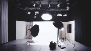 撮影スタジオの写真